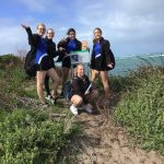 Coastal Lakes College students at Point Peron